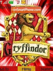 Gryffindor theme screenshot