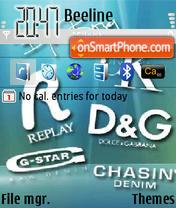 Скриншот темы Brands 01
