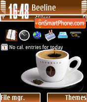 Expresso Coffe theme screenshot