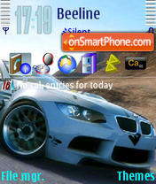 BMW V theme screenshot