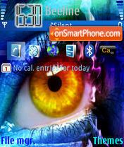 Eye1 theme screenshot