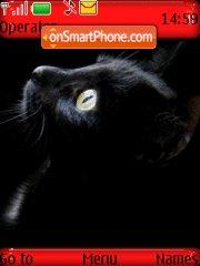 Скриншот темы Sweet Devil Cat