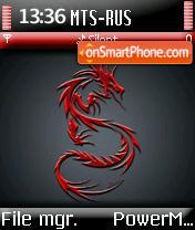 Red Dragon es el tema de pantalla