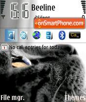 Скриншот темы Cat