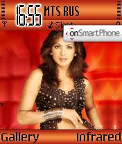 Priyanka Chopra theme screenshot