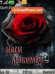 Rose In Darkness es el tema de pantalla
