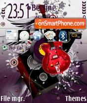 Music Lover v2 es el tema de pantalla