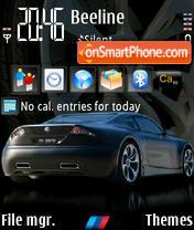 Bmw M Zero theme screenshot