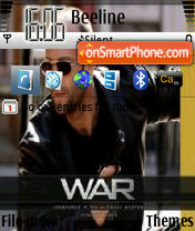 War theme screenshot