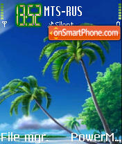 Nature Beauty tema screenshot