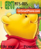 Pooh tema screenshot