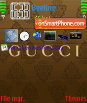 Gucci 08 theme screenshot
