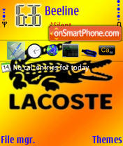 Lacoste 567 theme screenshot