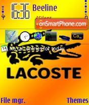 Скриншот темы Lacoste 567