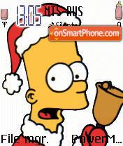 Скриншот темы Simpsons