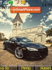 Audi R8 06 theme screenshot