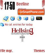 Hellsing theme screenshot