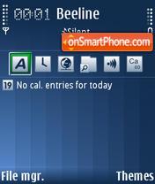Edge Giambi theme screenshot