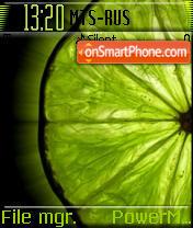 Lime theme screenshot