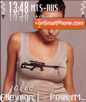 Angelina Jolie es el tema de pantalla
