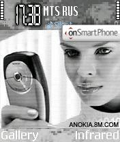 Nokia 6600 theme screenshot
