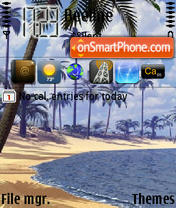 Palm Beach theme screenshot