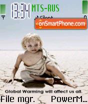 Greenpeace theme screenshot