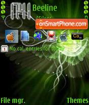 Abstracto Verde theme screenshot