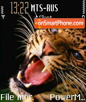 Leopard tema screenshot