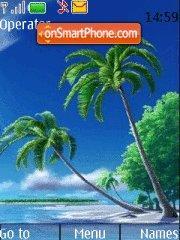 Island theme screenshot