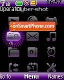Cybershot es el tema de pantalla