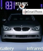 BMW M5 theme screenshot