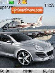 Capture d'écran Porsche thème