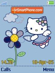 Hello Kitty Stitch theme screenshot