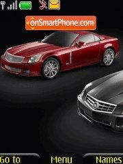 Cadillac Xlr theme screenshot