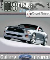 Скриншот темы Ford Mustang