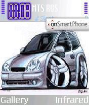 Opel theme screenshot