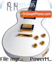 Guitar 01 es el tema de pantalla