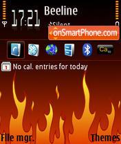 Everything Burns theme screenshot