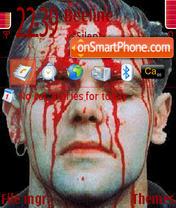 Rammstein 05 theme screenshot