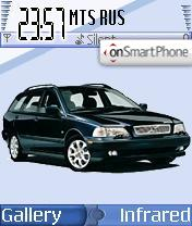 Volvo V70 theme screenshot