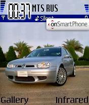 Скриншот темы VW Golf