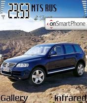 VW Touareg theme screenshot