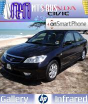 Honda Civic theme screenshot
