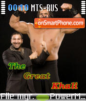 The Great Khali theme screenshot