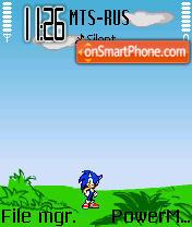 Sonic01 es el tema de pantalla