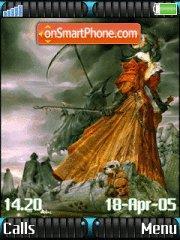 Bride Of Lucifer theme screenshot
