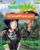 Naruto X Hinata theme screenshot