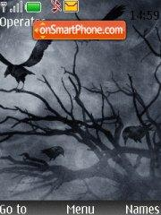 Black Night theme screenshot
