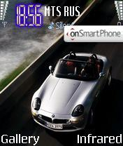 BMW Z8 theme screenshot